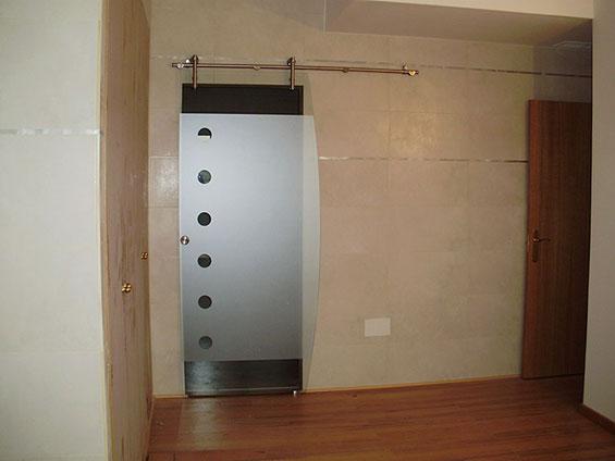 Pincel cristal mamparas de ba o y puertas de cristal - Puerta corrediza para bano ...