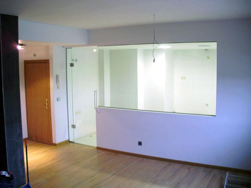 Pincel cristal mamparas de ba o y puertas de cristal - Puerta cristal cocina ...