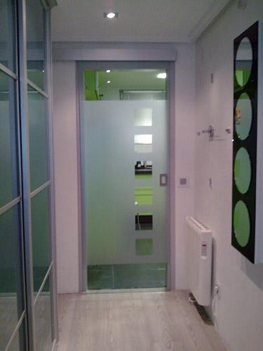 Puertas De Baño Templadas:Puertas De Aluminio Y Cristal Puertas De Closet En Espejo Puertas De