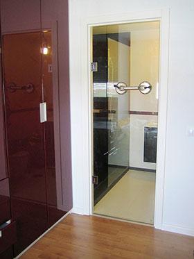 Pincel cristal mamparas de ba o y puertas de cristal for Puertas 180 grados