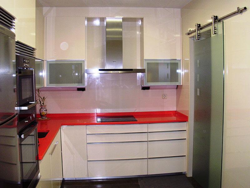 Pincel cristal mamparas de ba o y puertas de cristal con - Cocinas con bloques de vidrio ...