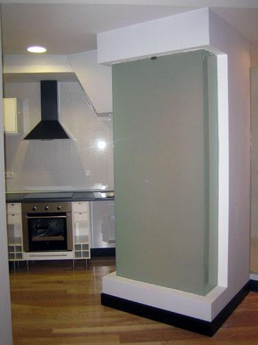 Pincel cristal mamparas de ba o y puertas de cristal con bisagra o corredera - Tabiques de cristal para viviendas ...