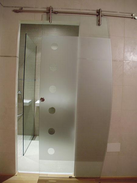 Pincel cristal mamparas de ba o y puertas de cristal con Puertas corredizas banos
